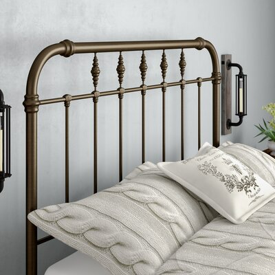 Analleli Slat Headboard Size: Queen