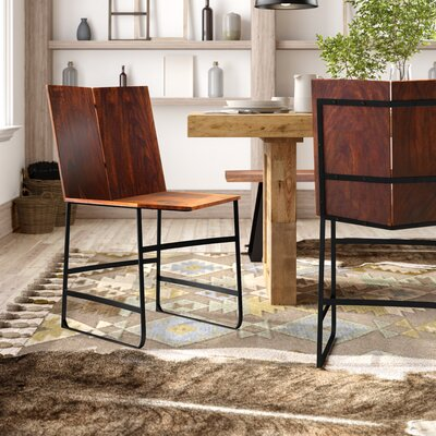 Reilly Solid Wood Dining Chair (Set of 2)