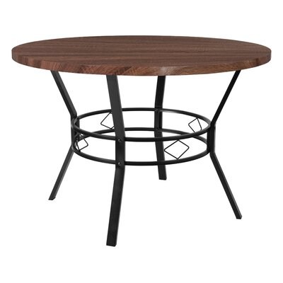 Cianciolo Dining Table Top Color: Coffee, Size: 29.5 H x 45 W x 45 L