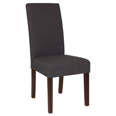 Rayford Upholstered Dining Chair Upholstery Color: Gray