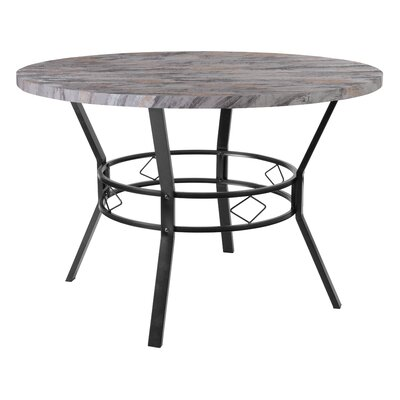 Cianciolo Dining Table Top Color: Gray, Size: 29.5 H x 45 W x 45 L