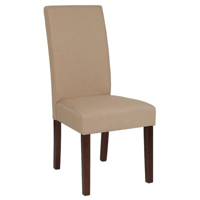 Rayford Upholstered Dining Chair Upholstery Color: Beige