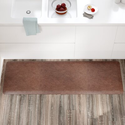 Spengler Original Smooth Kitchen Mat Color: Granite Copper, Mat Size: Rectangle 2 x 6