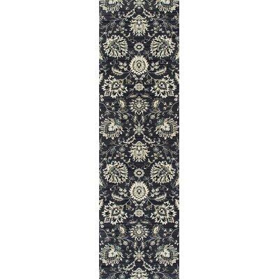Rangel Gray Area Rug Rug Size: Runner 22 x 77