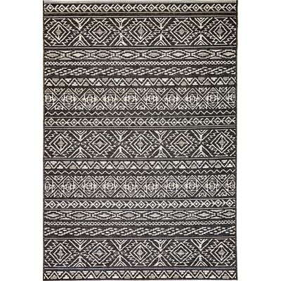 Pennock Gray Indoor/Outdoor Area Rug Rug Size: Rectangle 67 x 96