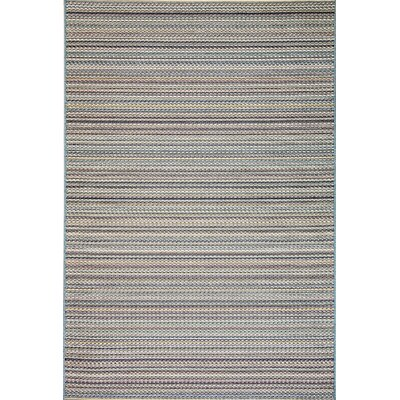 Pennock Blue Indoor/Outdoor Area Rug Rug Size: Rectangle 53 x 77