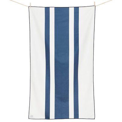 Curtice Microfiber Travel and Beach Towel Color: Deepwater Blue