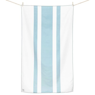 Curtice Microfiber Travel and Beach Towel Color: Baby Blue