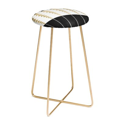 Triangles 25 Bar Stool