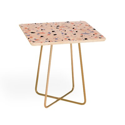 Sweet Terrazzo Texture Square End Table