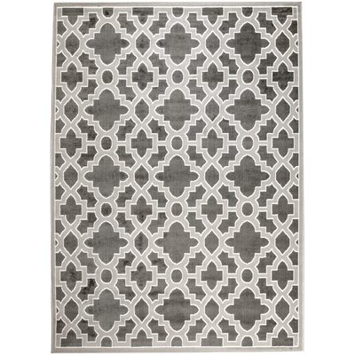 Banat Gray Area Rug Rug Size: Rectangle 5 x 7