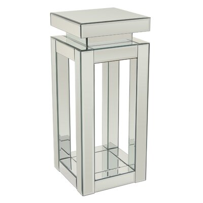 Aviana Mirrored End Table