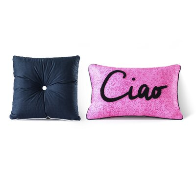 Arrighetto Cotton 2 Piece Decorative Pillow Set
