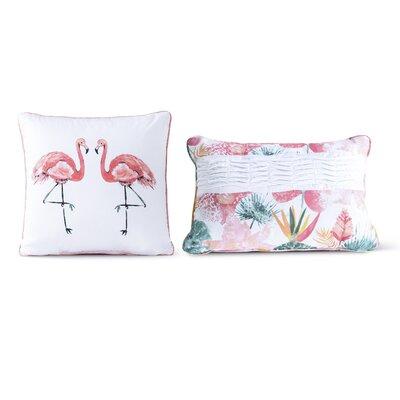 Shearman Cotton 2 Piece Decorative Pillow Set