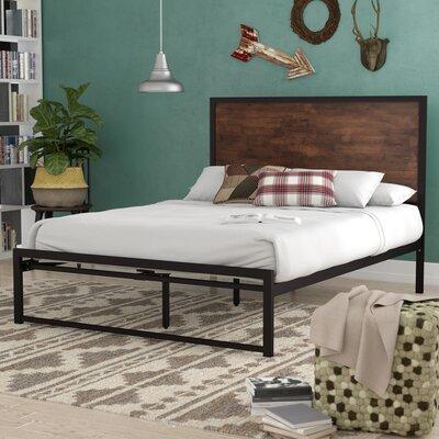 Nadolski Rustic Industrial Platform Bed Size: Queen