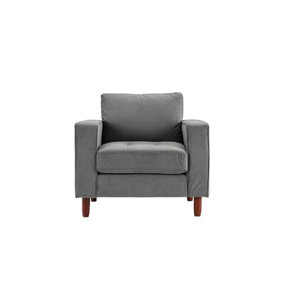 Kevin Armchair Upholstery: Gray