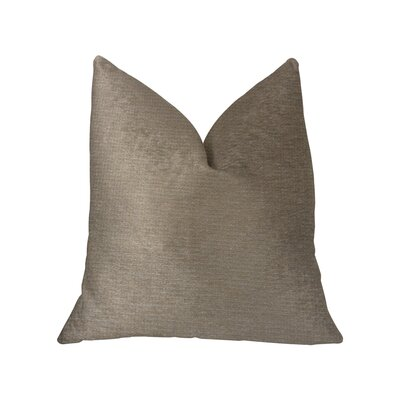 Ledger Luxury Cotton Throw Pillow Size: 24 x 24