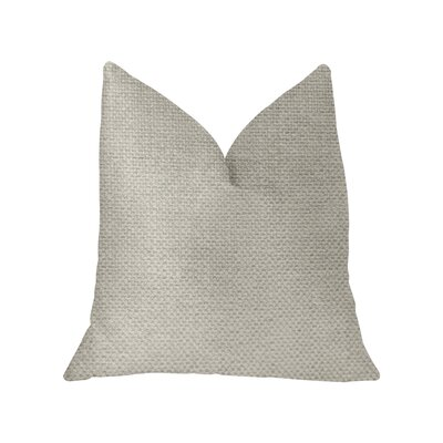 Leech Luxury Throw Pillow Size: 22 x 22
