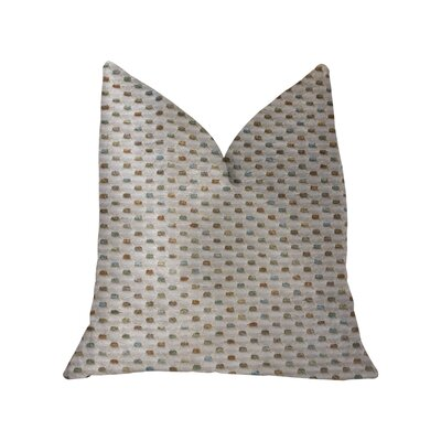 Linzy Luxury Throw Pillow Size: 16 x 16