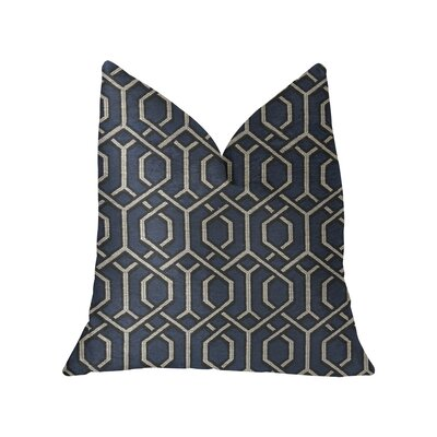 Caverly Luxury Throw Pillow Size: 24 x 24