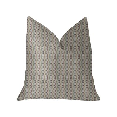 Dishon Luxury Throw Pillow Size: 16 x 16