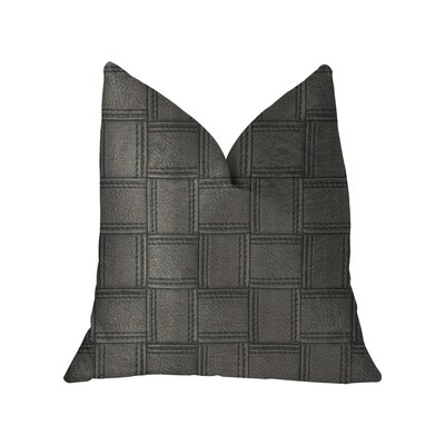 Lefferts Luxury Throw Pillow Size: 12 x 20