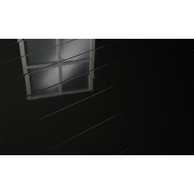 7 x 51 x 9mm Laminate Flooring in Black