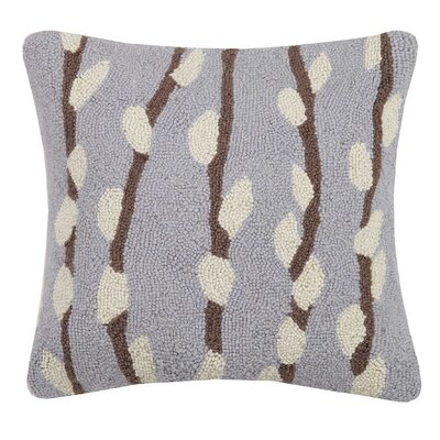 Marshburn Willow Hook Wool Throw Pillow