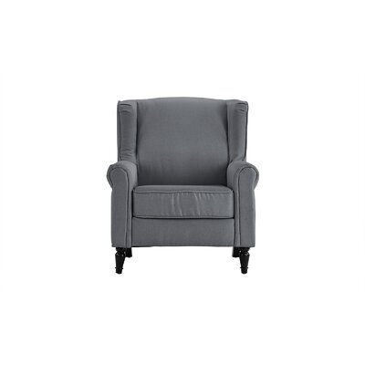 Aghalee Living Room Armchair Upholstery: Light Gray