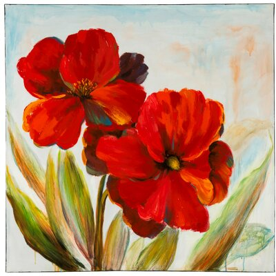 Flowers Painting Oil Painting Print On Canvas
