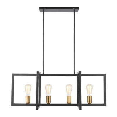 Barkingside 4-Light Kitchen Island Pendant