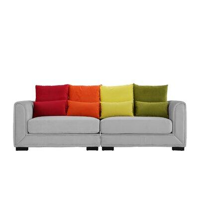 Catargiu Convertible Sofa Upholstery: Light Gray