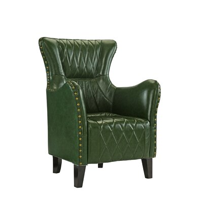 Westbury Armchair Upholstery: Green