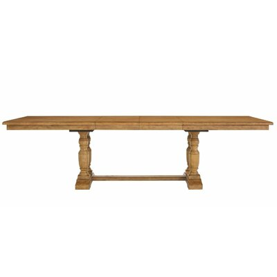 Wenger Baluster Wood Extendable Dining Table