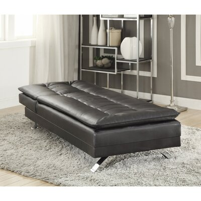 Catargiu Comfortably Tufted Leather Chaise Lounge