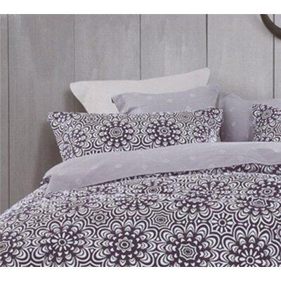Pizarro 200 Threat Count 100% Cotton Sheet Set Size: Queen, Color: Purple