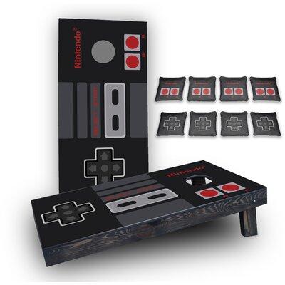 Nintendo Custom 10 Piece Cornhole Board Set CBO-NINTENDO-2x4