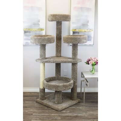 Main Coon Tower Cat Condo