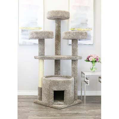 65 Main Coon House Cat Condo