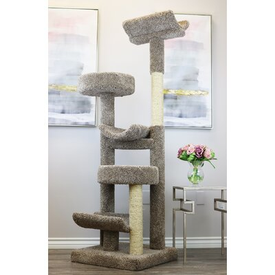 Staggered Play Tower Cat Condo