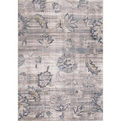 Kershner Petals Ivory Area Rug Rug Size: Rectangle 710 x 106