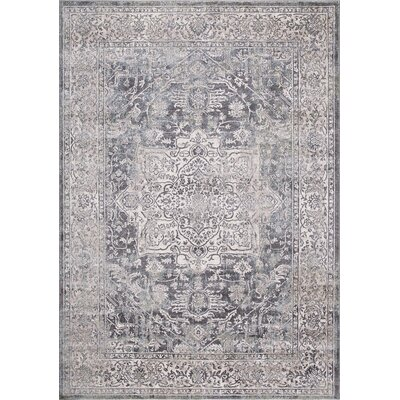 Pleasant Avenue Heriz Ivory Area Rug Rug Size: Rectangle 53 x 73