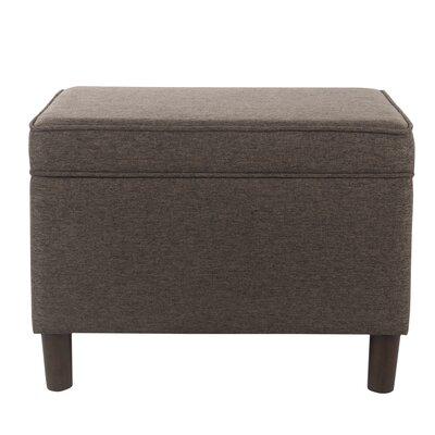 Kelemen Storage Ottoman Upholstery: Brown