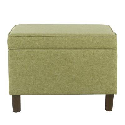 Kelemen Storage Ottoman Upholstery: Green