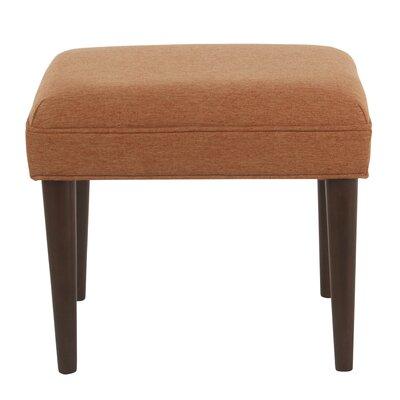 Kelch Modern Ottoman Upholstery: Orange