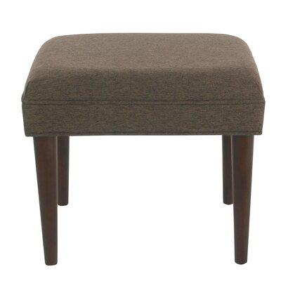 Kelch Modern Ottoman Upholstery: Brown