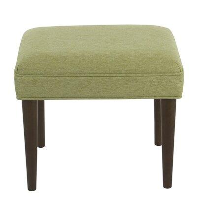 Kelch Modern Ottoman Upholstery: Green