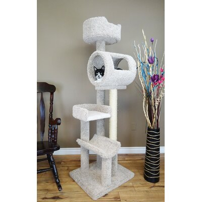Climbing Tower Cat Condo Color: Beige