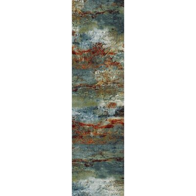 Pleasant Avenue Red Area Rug Rug Size: Runner  2 x 73