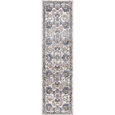 Reames Mahal Blue Area Rug Rug Size: Runner  2 x 73